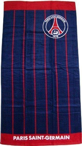 4d8bc7d0a28eae Drap de sport   serviette de plage - Collection officielle PSG - Football - PARIS  SAINT GERMAIN - Taille 75 x 150cm  Amazon.fr  Sports et Loisirs