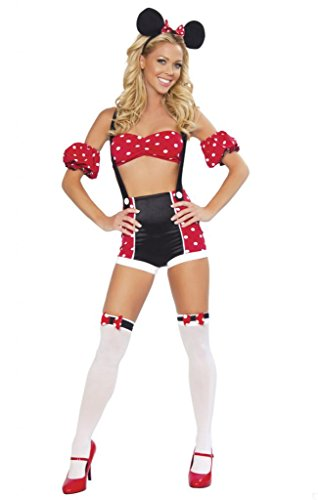 Sexy Pin Up Minnie Mouse Girl Halloween (Pin Up Girl Clothing Halloween Costumes)