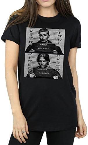 Supernatural Winchester damska koszulka z krÓtkim rękawem, kolor: czarny , rozmiar: m: Odzież