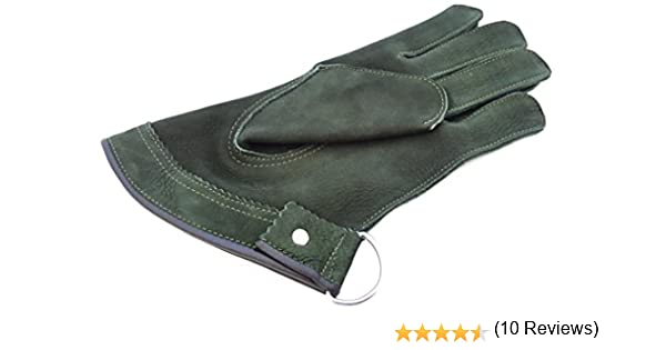 Guantes cortos de una sola capa de ante suave para cetrer/ía