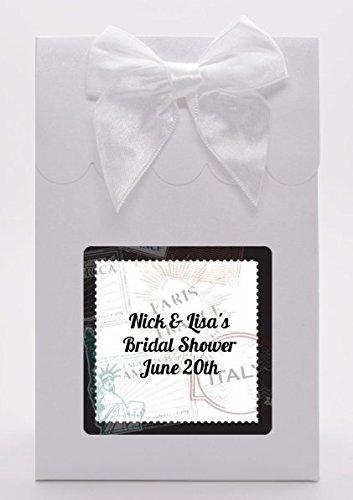 passport bridal shower goodie bags