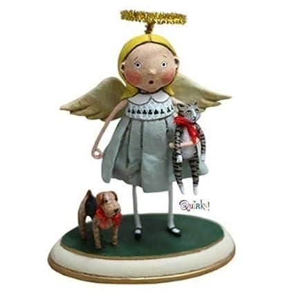 Amazon com: Kinks & Quirks Animal Keeper Angel Figurine by Lori
