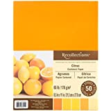 "Recollections Citrus Cardstock Paper, 8.5"" X 11"" - 50 Sheets, 5 Colors"