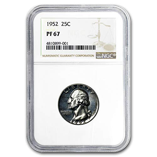 1952 Washington Quarter MS-67 NGC Quarter MS-67 NGC