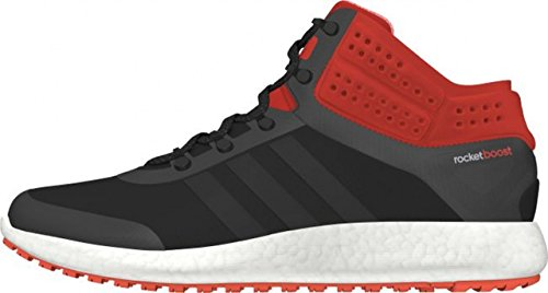 Adidas Performance CLIMAHEAT ROCKET BOOST MID CUT Chaussures Mode Sneakers Homme Noir Orange