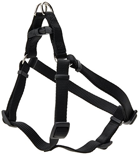 Coastal Pet Products DCP6445BLK Nylon Comfort Wrap Adjustable Dog Harness, 5/8-Inch, Black