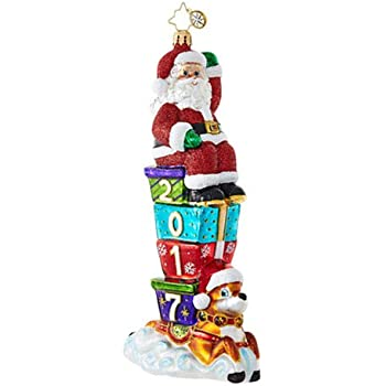 Christopher Radko 2017 Santa Parade Dated Christmas Ornament  sc 1 st  Amazon.com & Amazon.com: Christopher Radko Little Pony Prize Rocking Horse ...