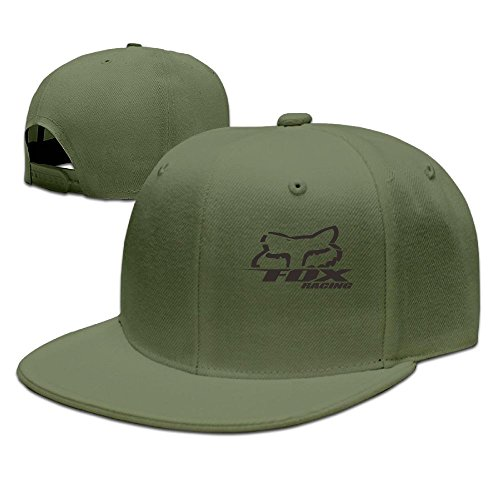 -racing-logo-vector Adjustable Baseball Caps ForestGreen ()