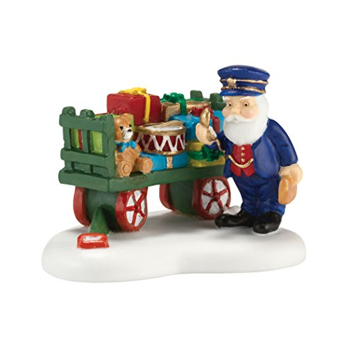 Department 56 North Pole Village Christmas Toys on Schedule Accessory Figurine, 1.625 inch (56 Villages North Pole Accessories)