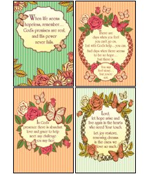 Hope for Tomorrow - KJV Scripture Greeting Cards - Boxed - Encouragement