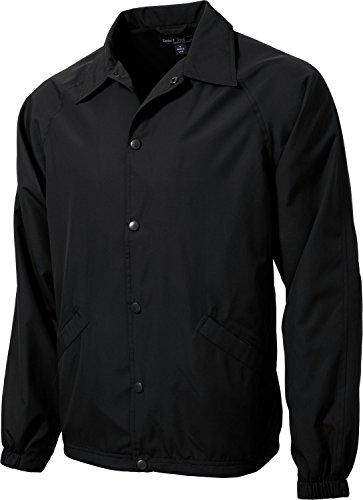 (Sport-Tek Men's Sideline Jacket L Black)