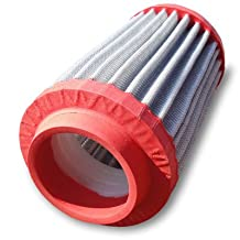 """Twist-R Cold Intake Air Filter Volkswagen Rabbit Convertible 1.8L ID 2.677""""/68 mm w/ Universal Install s23414096AT"""