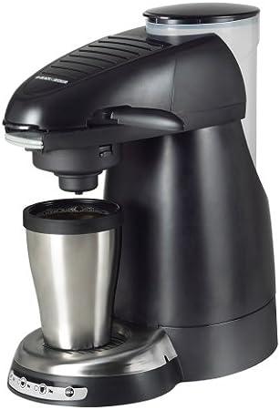 Black Black /& Decker HCC100 Home Cafe Single Serve Coffee Brewing System