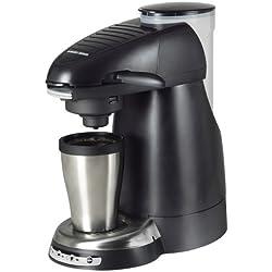 Black & Decker HCC100 Home Cafe Single Serve Coffee Brewing System, Black