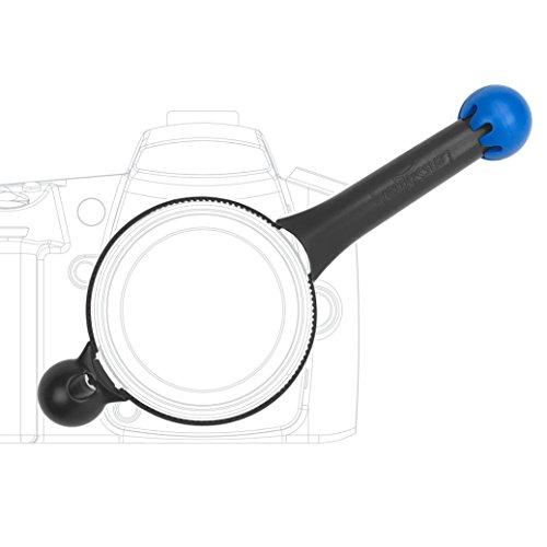 LensShifter Pro Blue - Balanced Focus and Zoom Grip for DSLR