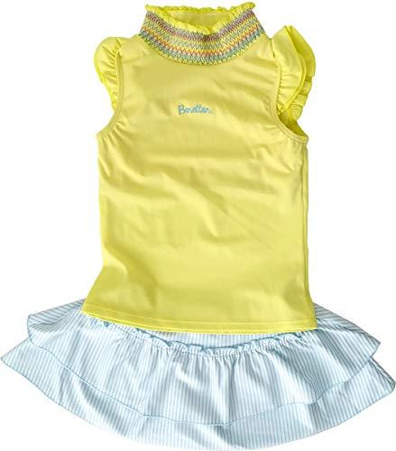 (베네통) BENETTON 아동 수영복 여 아 독립 2 점 세트 【 128-641 】 / (Benetton) BENETTON Kids Bathing Suit Girls` Separate 2 Pieces [128-64