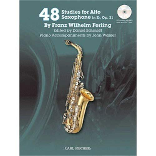 (48 Studies for Alto Saxophone in Eb, Op. 31 w/CD)