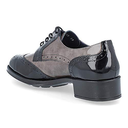 Mujer Ride De Charol 79209 Negro Zapatos Callaghan Adaptaction Qttrns XZuOikTP