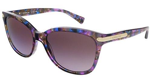 Coach Womens L109 Sunglasses (HC8132) Purple/Purple Acetate - Non-Polarized - 57mm -
