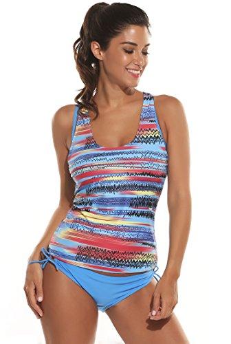 Ekouaer Womens Tankini Bathing Swimwear product image