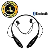 Delhitraderss Gionee Phone's Compatible HBS-730 Neckband Wireless Bluetooth Waterproof Attractive Headphone with Built-in Microphone