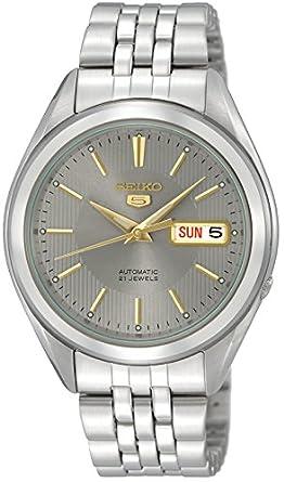 Reloj Seiko Caballero SNKL19K1 Color Acero