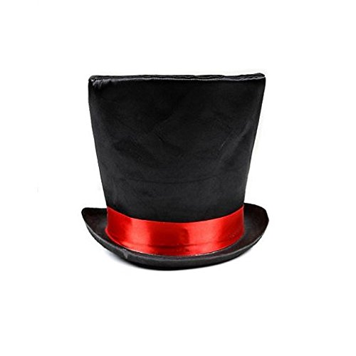 Fancy Party Halloween Mad Hatter Top Hat
