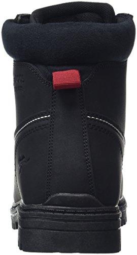 KangaROOS Riveter M I, Botines para Hombre Negro - negro (negro 500)