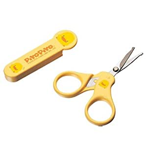 Piyo Piyo Yellow Baby Nail Scissors