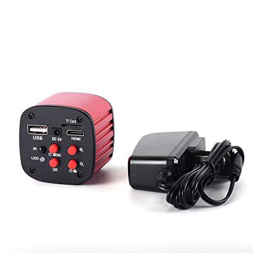 HAYEAR 16MP CCD Camera Full hd 1080p HDMI USB Industrial Video Microscope Camera for Phone PCB Board Repair Red