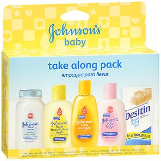 Johnson's Baby Take Along Pack - 1 Each, Pack of 4 by Johnson's