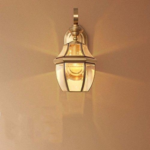La Comunità europea della luce - parete di rame illuminazione pubblica illuminazione LED esterni Terrazza Balcone Hallwayverde comodino,