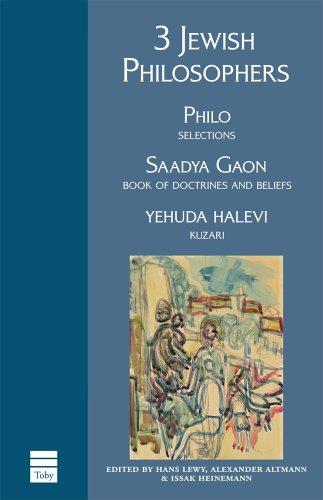 Download 3 Jewish Philosophers pdf epub