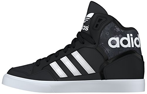 Adidas Damen Extaball W Low-top Black (negbas / Ftwbla / Grijs)