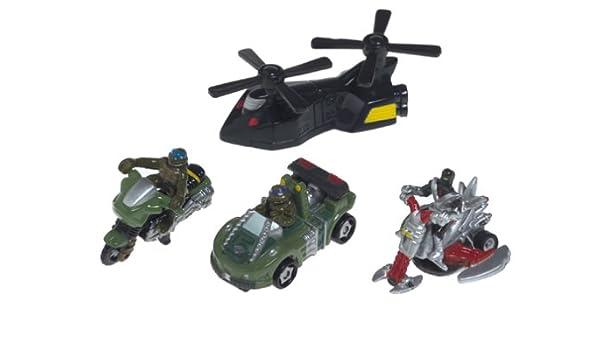 Amazon.com: Speedeez Five Pack Vehicle: Turtles Vs Foot ...