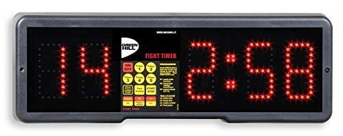 GREEN HILL RELOJ DIGITAL GYM CRONÓMETRO ELECTRÓNICO FIGHT TIMER BOXEO: Amazon.es: Deportes y aire libre