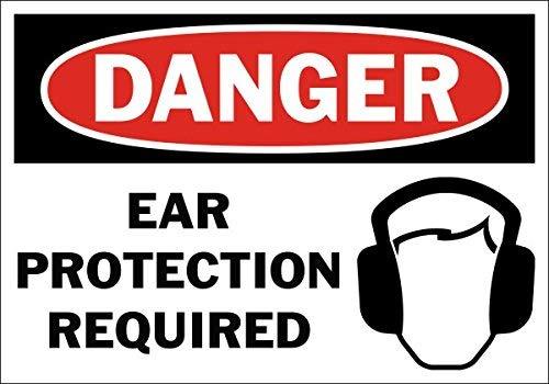Señal de Seguridad para protección de los oídos de Peligro ...