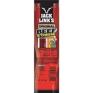 Jack Links 01139 Cheese & Beef Stick, 1.2-oz. - Quantity 16