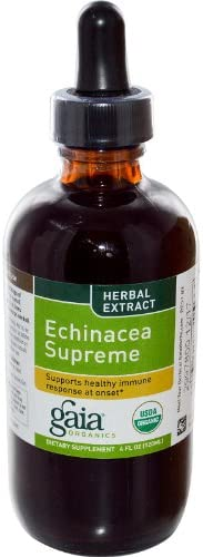GAIA HERBS Echinacea Supreme Supplements, 4 oz