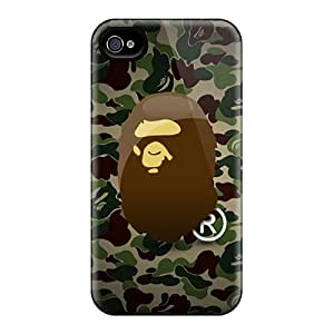 Best Cell-phone Hard Cover For Iphone 4/4s With Provide Private Custom Lifelike Camo Bape Series InesWeldon