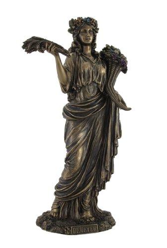 ss of Harvest Demeter Bronzed Statue ()