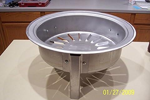 Brinkmann all in one Smoker Grill Lava Rock Charcoal Replacement Pan (Brinkmann Smoker Pan)