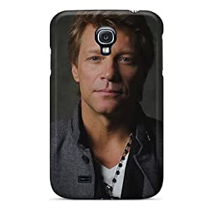 High Quality Mobile Covers For Samsung Galaxy S4 With Support Your Personal Customized Fashion Bon Jovi Band Skin InesWeldon