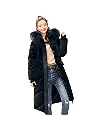 Padded Down Coat Thick Fur Hooded Lammy Jacket Coats Parkas Overcoats Outwear