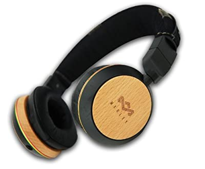 The House of Marley Stir It Up On-Ear Headphones - Freedom Collection - Three-Button Apple Mic