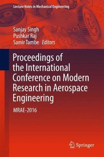 Proceedings of the International Conference on Modern Research in Aerospace Engineering: MRAE-2016 (Lecture Notes in Mechanical Engineering)-cover