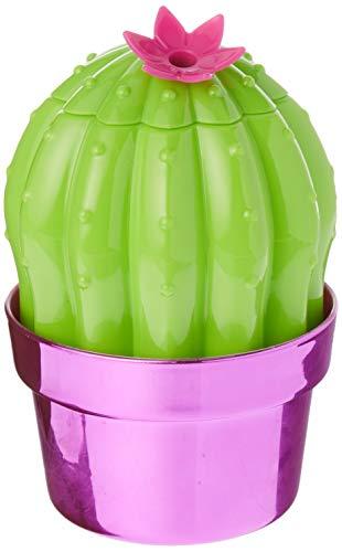 (Blush 6289 Cactus Drink Tumbler, One Size, Pink/Green)