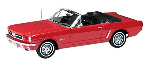1/18 フォード マスタング コンバーチブル 1964 1/2(レッド) WE12519CR