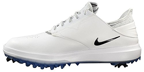 Pictures of Nike Golf- Air Zoom Direct Shoes Black/Metallic Silver 4