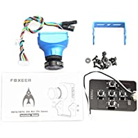 Dubaym Foxeer Arrow V3 2.5mm Lens FPV Camera OSD & MIC Built-in PAL IR-Block Blue